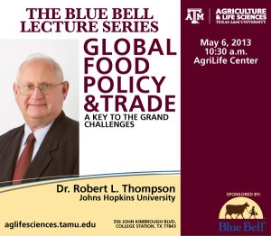 Public Lecture on Food Policy and Trade
